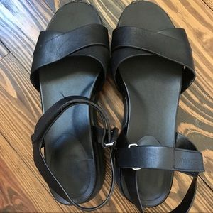Cole Haan Black Zerogrand Sandals